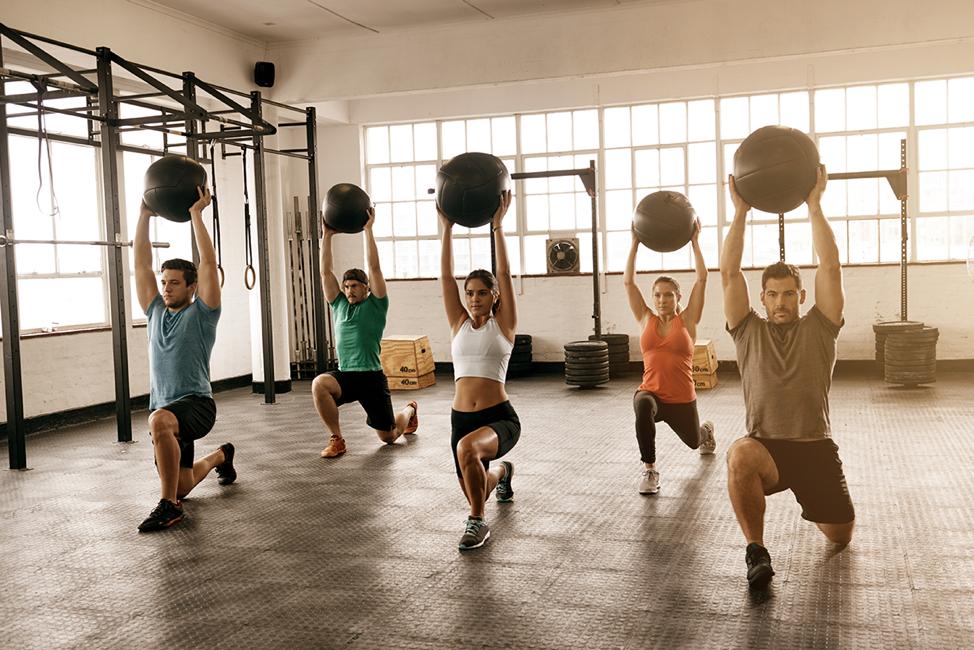 7 fitness classes