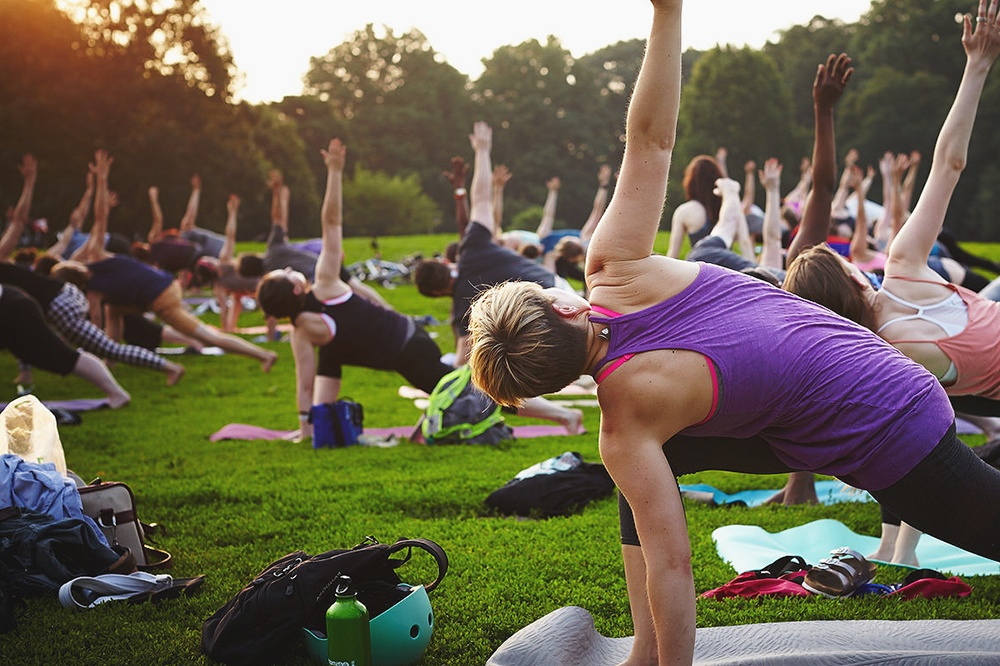 outdoor fitness classes nyc